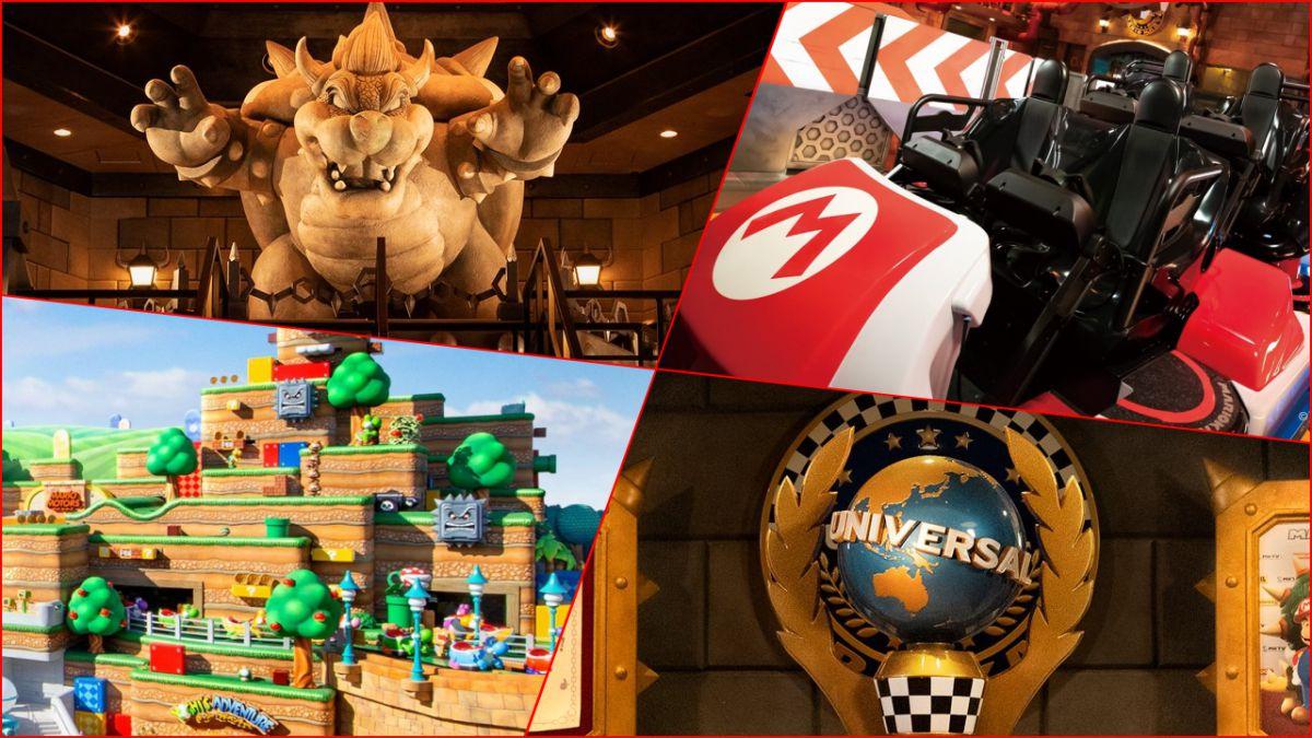 El parque temático Super Nintendo World tendrá carreras de Mario Kart en realidad aumentada