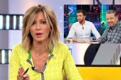 Susanna Griso se lanza en tromba en defensa de los 'estafados' Pablo Motos y Alberto Chicote