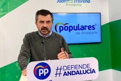"""Toni Martín (PP) califica de """"inhumana"""" la actitud del PSOE-Andalucía y de Susana Díaz"""
