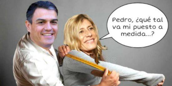 Begoña Gómez, esposa de Sánchez, no puede legalmente ser directora, codirectora o cualquier otro enchufe