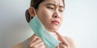 prevenir el acné provocado por la mascarilla o maskne
