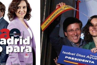La izquierda rabia con la portada (y los éxitos) de Díaz Ayuso y Martínez-Almeida juntos