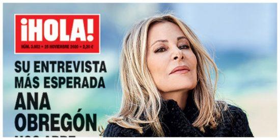 La entrevista más esperada: Ana Obregón, rota de dolor, habla como nunca de la muerte de su hijo