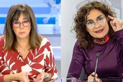 """Ana Rosa apalea a Montero por su mentira del IVA de las mascarillas: """"¿No se ha enterado o no le conviene?"""""""