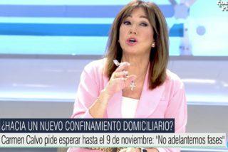 """Ana Rosa Quintana: """"Illa está desbordado, o no se entera, ¡o nos engaña!"""""""