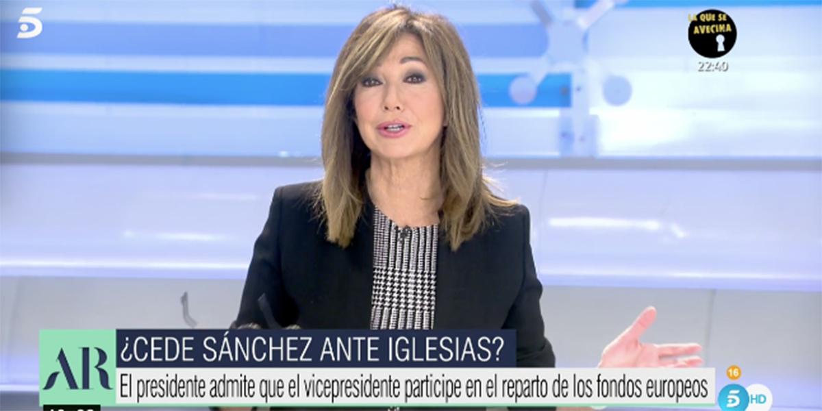 """Palos a Pablo Iglesias desde Telecinco por la parálisis en su vicepresidencia: """"¡No ha hecho nada!"""""""