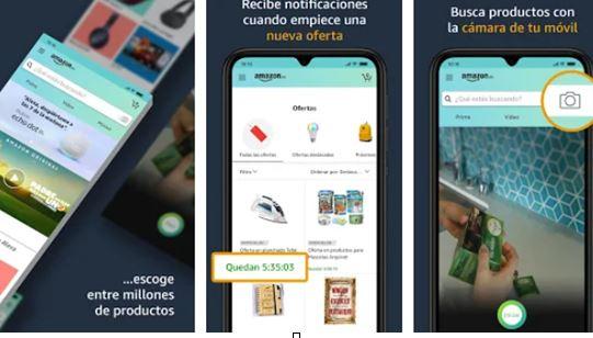 la app de Amazon