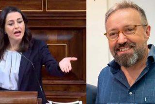 """Arrimadas """"tiende la mano"""" a un Sánchez que pacta con Bildu y Girauta la zarandea: """"¡Qué vergüenza ajena!"""""""