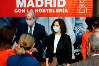 """Isabel Díaz Ayuso a la hostelería: """"Gracias a vosotros no perdemos la identidad"""""""