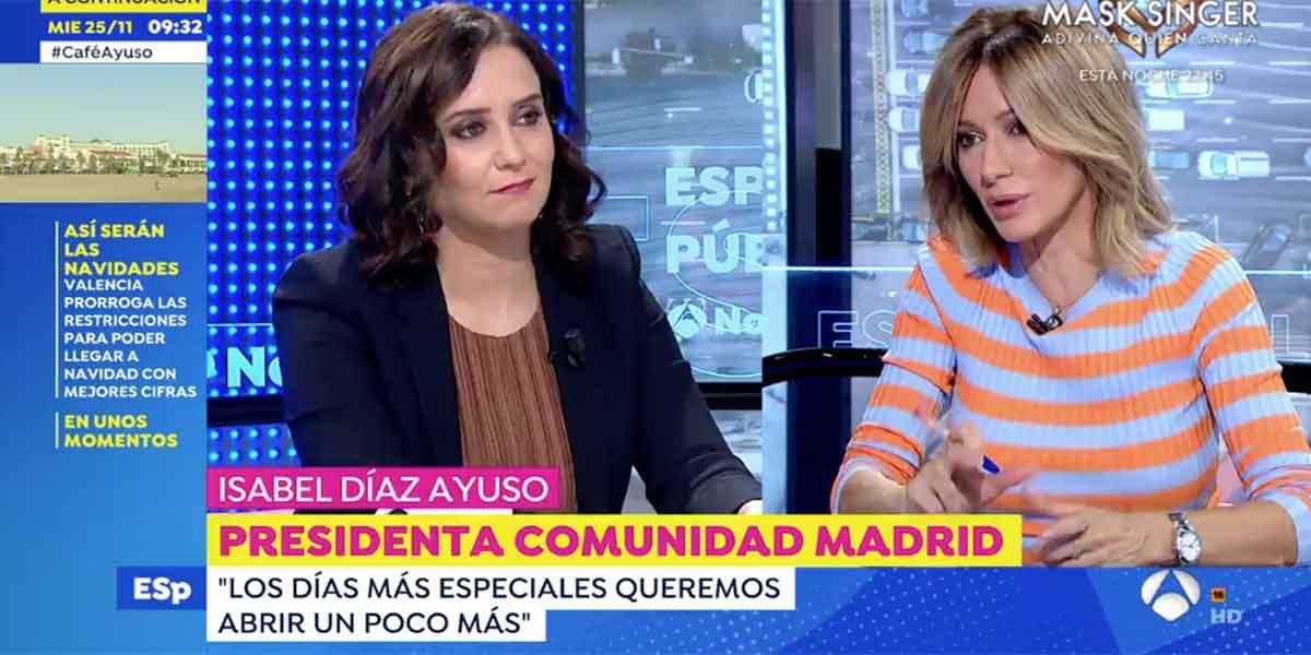 """Ayuso desafía a Rufián por querer machacar a los madrileños a impuestos: """"Voy a ser tu peor pesadilla"""""""