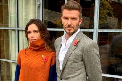 Victoria trolea públicamente a David Beckham por sus pintas y le compara con un villano de Disney