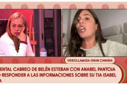 Belén Esteban acaba con la carrera de Anabel Pantoja en 'Sálvame': La bronca más salvaje