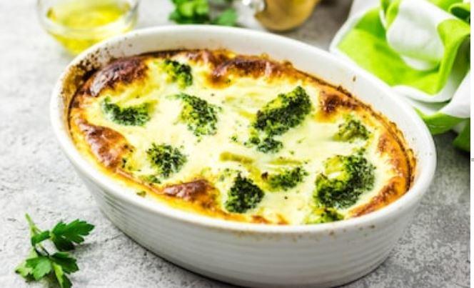 Brócoli gratinado: