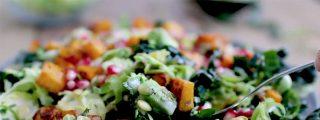 Ensalada de otoño: ¡con calabaza y frutas!
