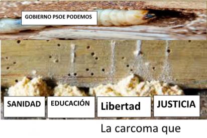 """Manuel del Rosal: """"La carcoma que corroe los cimientos de España """""""