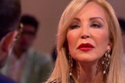 """Ni rico ni fascinante: Carmen Lomana quita la careta a su novio y rompe con él por haber sido """"un Judas"""""""