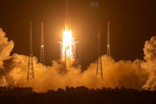 China manda a la Luna a su misión Chang'e-5 para traer muestras extraterrestres