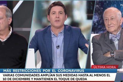 Un colosal Chencho Arias deja para el arrastre a Sánchez en TVE y pone de los nervios a Cintora
