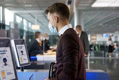 Control biométrico aeropuerto