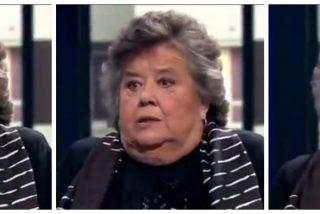 """Cristina Almeida asume el insulto de Iglesias a la bandera de España: """"Es un trapo y se puede quemar"""""""