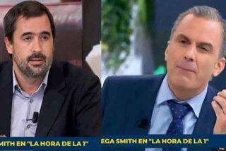 """Mayúscula bronca de Ortega Smith (VOX) a Carlos Cué (El País): """"¡Ustedes son propagandistas de la mentira!"""""""