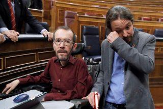 Echenique, hundido: condenado a pagar 80.000 euros por inventarse una violación