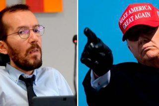 """El chiste se cuenta solo: Echenique, el 'socio' de Maduro, acusa a Trump de """"pegarle fuego a la democracia"""""""