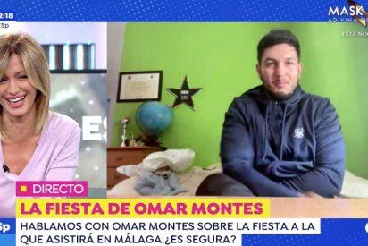 """Omar Montes vuelve a tirar la caña a Susanna Griso y ella responde sin filtros: """"Sabes que es mutuo"""""""
