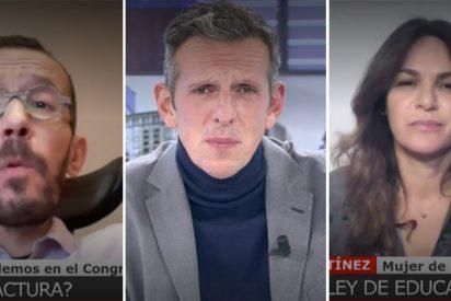 La cara más deplorable de Echenique: llama mentirosos e interesados a Bertín Osborne y Fabiola