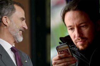 Twitter se descojona del 'guerrillero' Pablo Iglesias por dejar de seguir al Rey Felipe VI en redes sociales