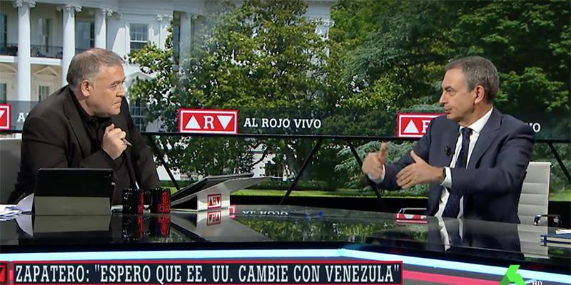 """Zapatero, más lacayo de Maduro que nunca, en laSexta: """"¡Se ha votado muchas veces en Venezuela!"""""""