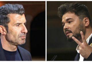 """Figo sopapea a Rufián: """"Deja de chupar del bote y preocúpate por las empresas fugadas de Cataluña"""""""