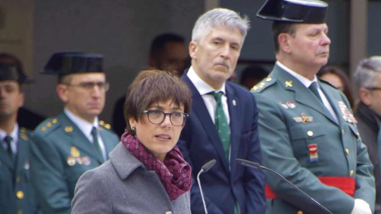 """Cabreo en la Guardia Civil: Acusan a la 'enchufada' de Marlaska de """"faltar a su palabra"""" y abandonan un pleno"""
