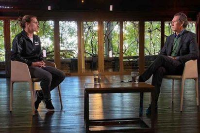 """De la Morena destroza el trabajo de su propio compañero Valdano: """"La entrevista a Griezmann fue humo"""""""