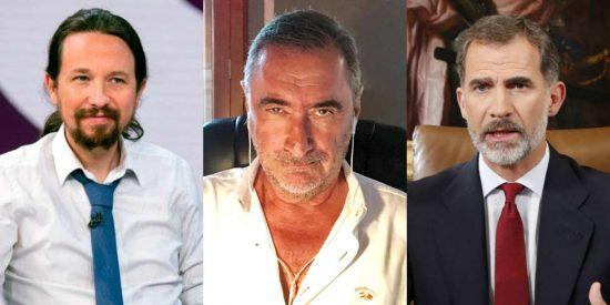 Moncloa arde: impactante filtración de Carlos Herrera sobre Sánchez, Iglesias y el Rey Felipe