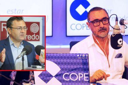 """Enorme réplica de Herrera a un senador del PSOE: """"Vamos a ver, primate, ¿mejor en putas que en concertados?"""""""