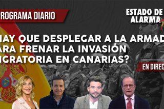 TERTULIA / ¿Hay que desplegar a la Armada para frenar la invasión de inmigrantes en Canarias?