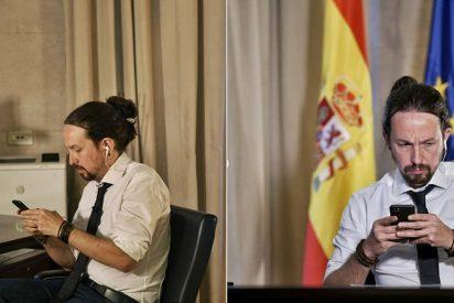 """""""En España el virus más peligroso es Pablo Iglesias"""", palo en directo al vicepresidente"""