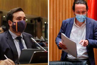 Apagan el micro a un diputado del PP por reprochar a Iglesias su machismo proteccionista en el 'Caso Dina'