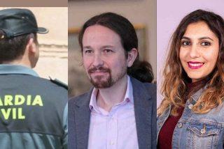 "El panfleto de Dina e Iglesias tilda de ""cloaca verde"" a la Guardia Civil por investigar a Podemos"