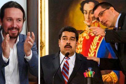 """Embajada chavista en España: """"Maduro pidió a Unidas Podemos increpar a González Laya por viajar a Colombia"""""""