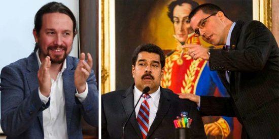 Iglesias se escabulló de Felipe VI en Bolivia para reunirse en secreto con el canciller de Maduro