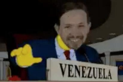 La última idiotez de Iglesias (#ElDelMoño) en Twitter le sale de pena