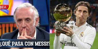 "Inda 'acojona' al madridismo: ""El Real Madrid no planea renovar a Modric"""