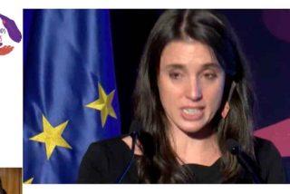 Irene Montero se cree su papel: así rompe a llorar la Ministra de Igualdad al presidir su primer 25-N
