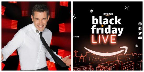 Impresionantes actuaciones del Black Friday LIVE de Amazon con Jesús Vázquez como presentador