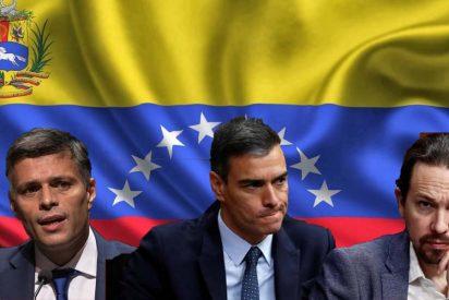 """Leopoldo López exige """"coherencia"""" a Iglesias y negocia con Sánchez sanciones personales al régimen chavista"""