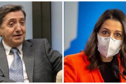 """Losantos: """"Arrimadas, había que votar no a los PGE, no porque los apoye la ETA, sino porque son falsos"""""""