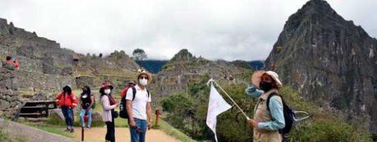 Machu Picchu –y el turismo– están de vuelta