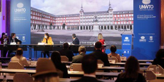 Madrid, anfitriona de la 42ª sesión plenaria de la Organización Mundial del Turismo